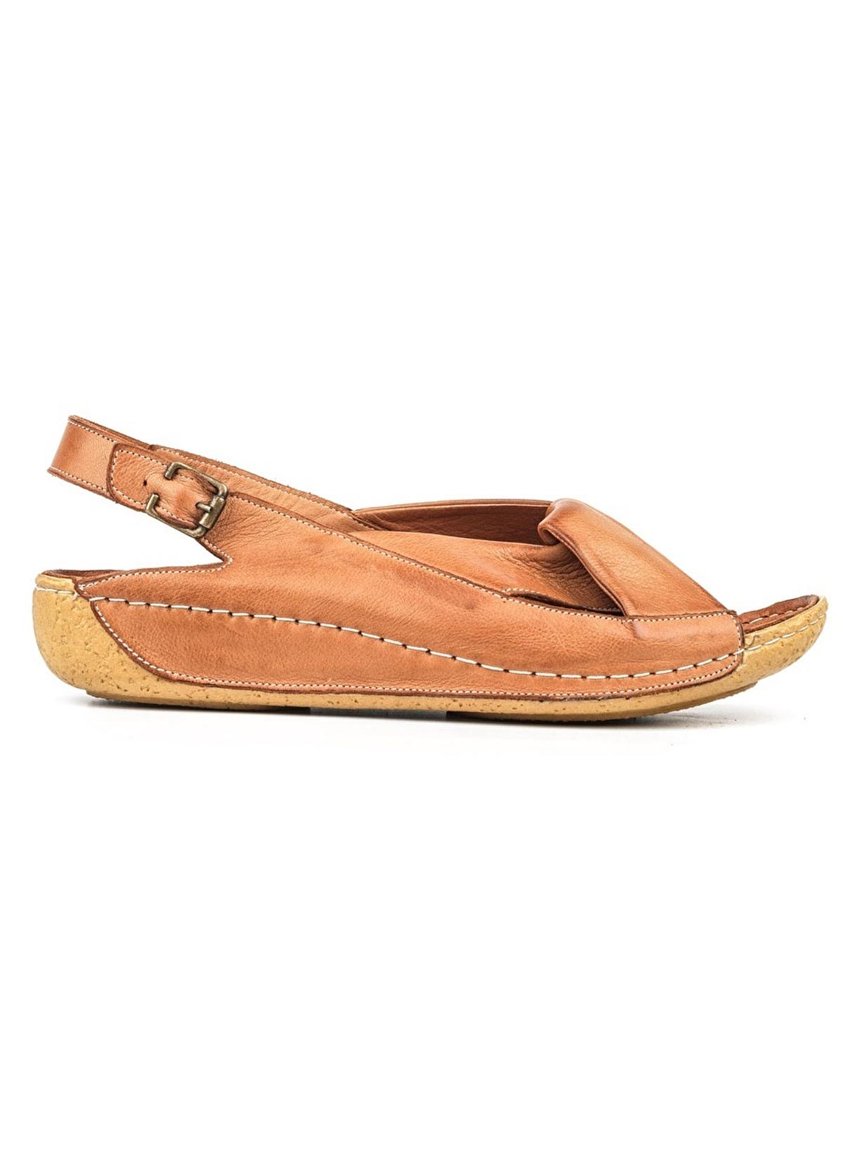 9ef0c472551ab Riccardo Colli Kadın Hakiki Deri Sandalet 17-Taba | Morhipo | 18958024